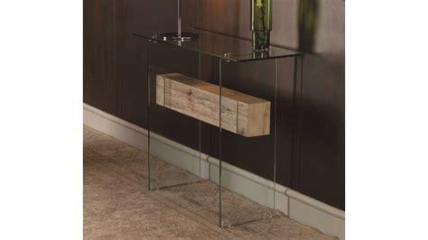 console verre  bois design transparente diana gdegdesign