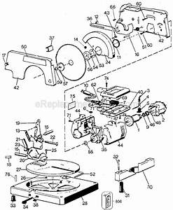 Black And Decker 9425 Parts List And Diagram