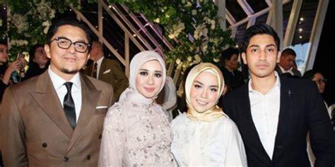 gaya miliarder muda medina zein  hadiri nikahan bella