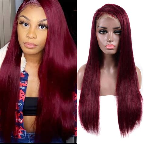 99j hair color lace front wigs human hair wigs asteriahair