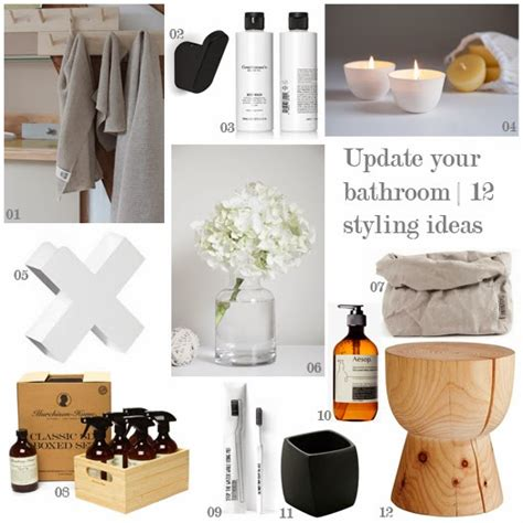 bathroom styling ideas the little design corner