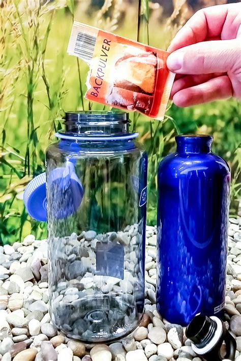 kann wasser schimmeln trinkflasche reinigen so geht s richtig