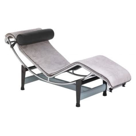chaise longue le corbusier lc4 fauteuil lc4 le corbusier meubles cassina sur authentics design