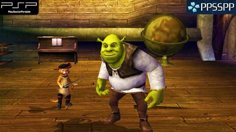 Shrek The Third Psp Gameplay 1080p Ppsspp Youtube