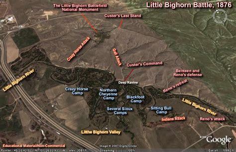 little bighorn battlefield map google search little