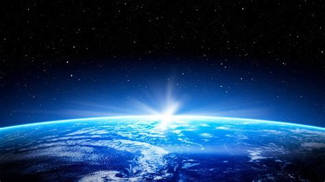 wallpaper earth horizon  space  popular