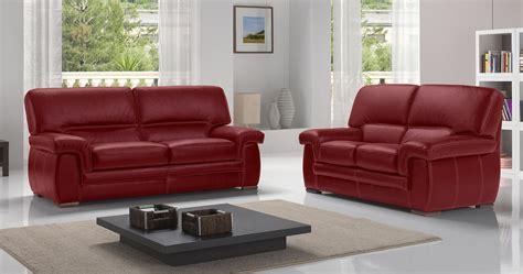 canapé cuir home salon varese salon 3 2 cuir buffle premium personnalisable sur