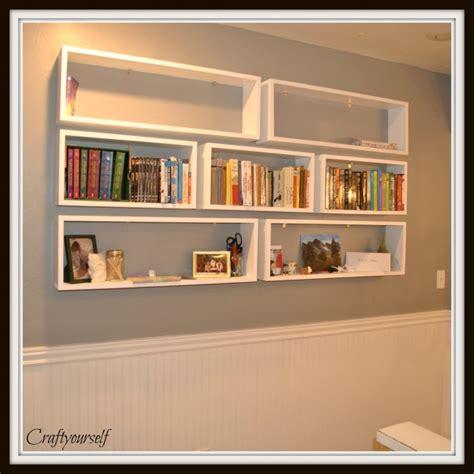 Floating Bookshelves Craft