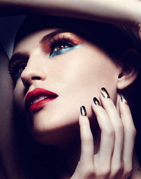 close  beauty editorials sesja zdjeciowa makijaz