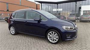 Golf Sportsvan 2017 : volkswagen golf sportsvan highline 2017 2018 atlantic blue metallic dsg tsi youtube ~ Medecine-chirurgie-esthetiques.com Avis de Voitures