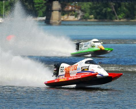Formula Boats Racing by Formula One Boat Race By Jon Wright