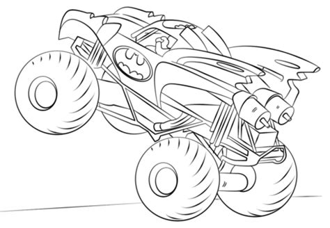 monster truck mack coloring page  coloring pages