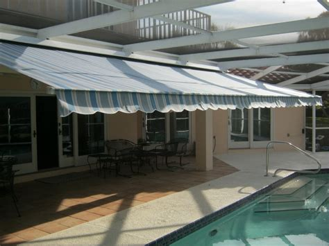 retractable awning fabric replacement  largo fl west coast awnings