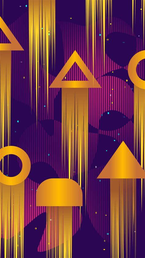 Download Wallpaper 2160x3840 Pattern Geometric Shapes