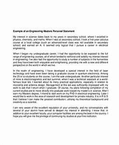 graduate personal statement examples cv sample