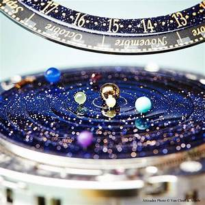 Astronomical Watch Accurately Shows The Solar System's ...