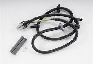 Abs Wheel Speed Sensor Wire Harness Front  Rear Acdelco Gm
