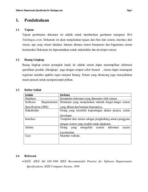 tugas RPL laporan srs ieee