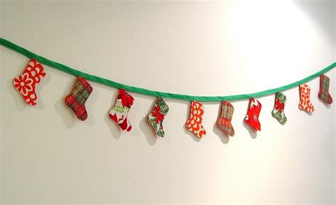 christmas stocking bunting  tutorial punkin patterns
