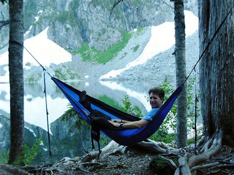 Relaxing On Hammock by Relaxing On My New Eno Hammock At Lake Serene Eno