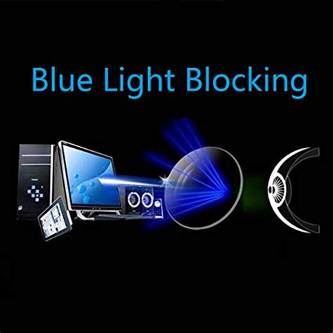 blue light filter for laptop cyxus blue light filter anti eye strain semi rimless