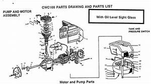 Bostitch Cwc100 Air Compressor Parts  Bostitch Parts