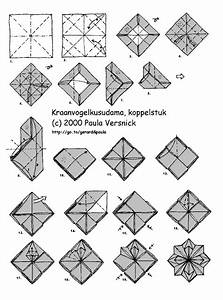 Free Coloring Pages  Free Origami Flower Instructions Pdf
