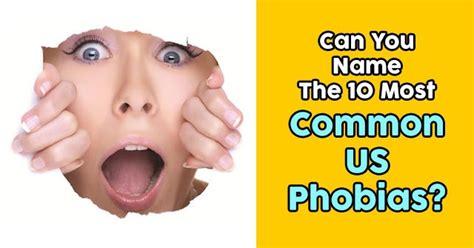 common  phobias quizpug