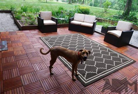 interlocking patio tiles we installed interlocking deck tile our deck