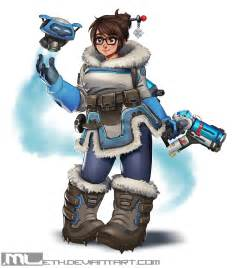Overwatch Mei Fan Art