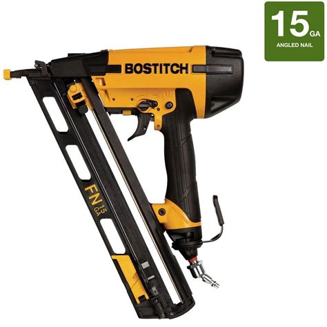 Bostitch Flooring Nailer Home Depot by Bostitch 15 Angled Nailer N62fnk 2 The Home Depot