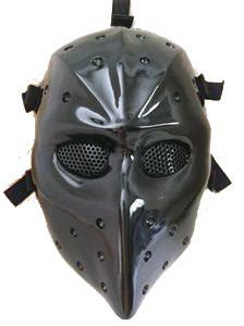 Amazon.com : HEAT BLACK AIRSOFT HOCKEY GOGGLE MASK
