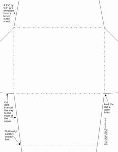 envelope templates With 6 x 8 envelope template