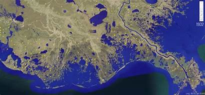 Land Louisiana Sea Level Way Change Rise