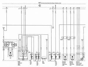 Mercedes-benz C220  1994 - 1996  - Wiring Diagrams - Sunroof