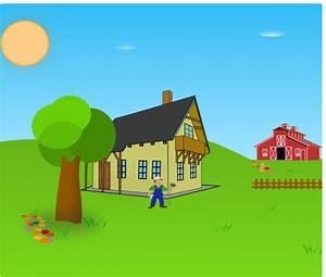 Farm Background Clip Art at Clker.com - vector clip art ...