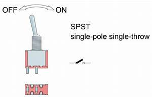 Single Pole Single Throw Switch Diagram