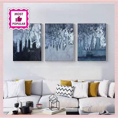 Paintings Abstract Acrylic Leaf Canvas Abstractos Cuadros