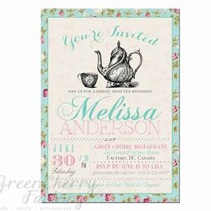 tea party invitation templates to print free printable With create funny wedding invitations online free