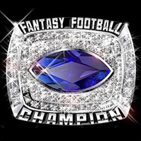 fantasy football league ring sales expecting spike  nfl