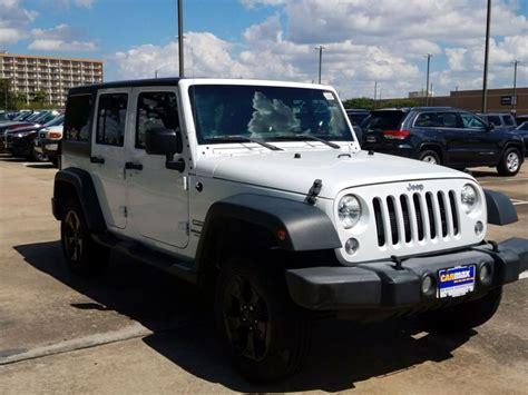 jeep wrangler  houston tx  sale