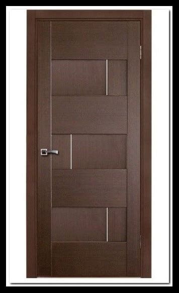 model pintu minimalis bagian depan rumah katulis