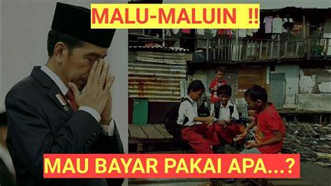 berita terbaru hari inipagi  maret  kemiskinan indonesia jokowi  bayar pakai