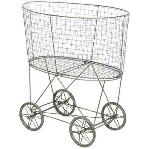 wire laundry basket on wheels wire laundry basket with wheels 1918