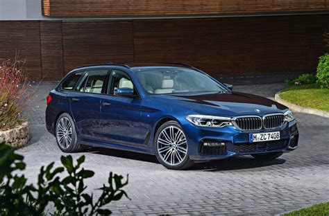 Mobil Bmw 5 Series Touring by 2017 Bmw 5 Series Touring Is Lighter And More Practical