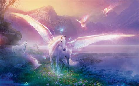 unicorn backgrounds wallpaperwiki