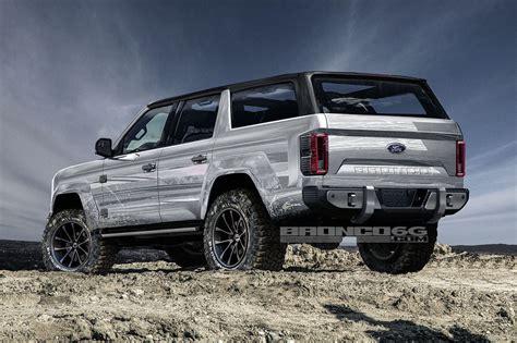 ford bronco    door  renderings show