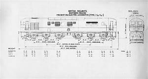 Electric Locomotive Of A Engineering Diagram
