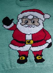 00 Gauge Size Chart Ravelry Christmas Santa Jumper Sweater Knitting Pattern
