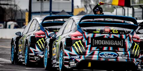 ken block hoonigan racing  ford performance